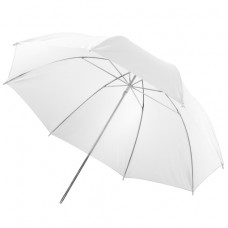 Studijski prosojni dežnik Walimex 84 cm, bel (W-12132)