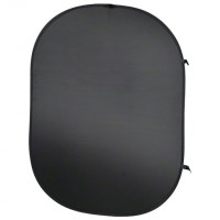 Zložljivo foto ozadje Walimex 150x195cm črno