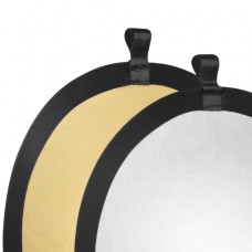 Odbojnik, odsevnik Walimex Foldable Reflector, zlat/srebrn, 56cm