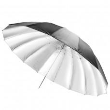 Studijski odbojni dežnik Walimex pro Reflex, črno/srebrn 180 cm (W-17191)
