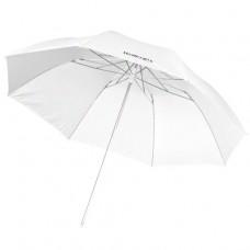 Studijski prosojni dežnik Walimex pro 109 cm, bel