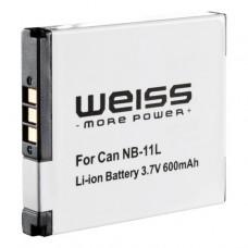Baterija za Canon NB-11L, nadomestna Weiss (W-18239)