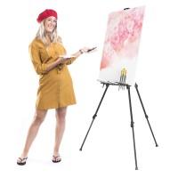 Slikarsko stojalo Walimex pro Studio XL 180cm, štafelaj, prenosno, zložljivo