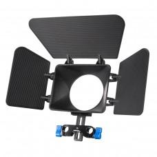 Matte Box sončna zaslonka M1 za DSLR nosilec